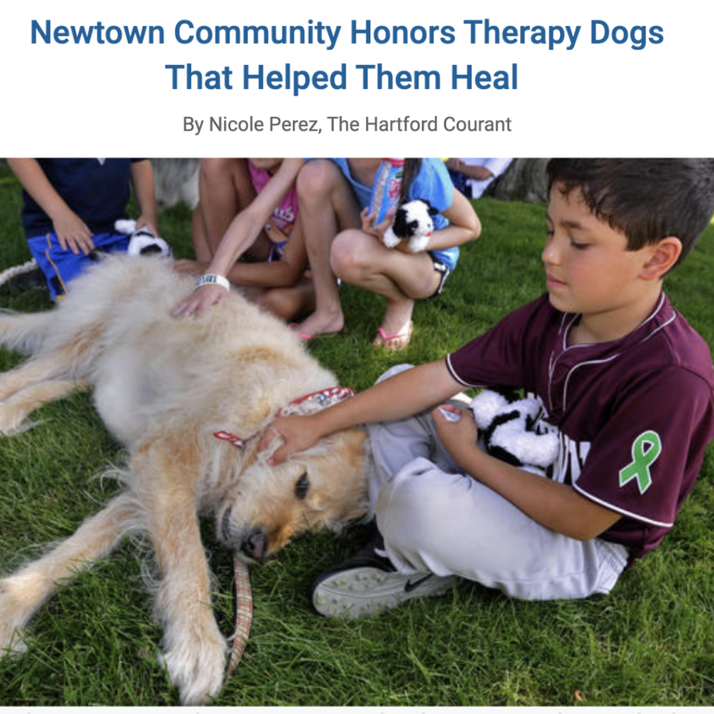 Remembering Newtown Therapy Dogs